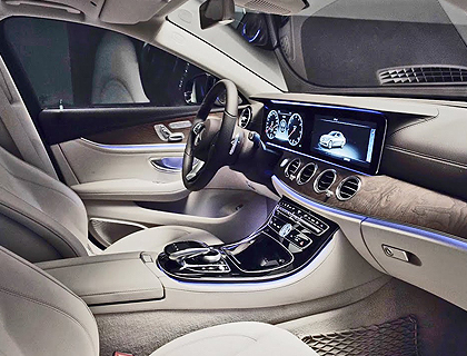Mercedes E-Class Chauffeur Drive London