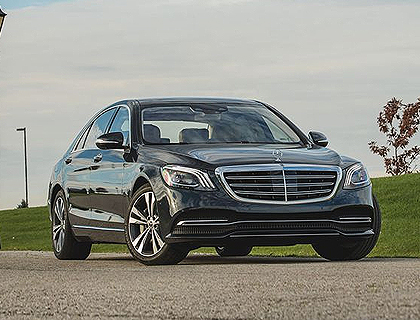Mercedes S-Class Chauffeur Drive London