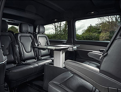 Mercedes V-Class Chauffeur Drive London